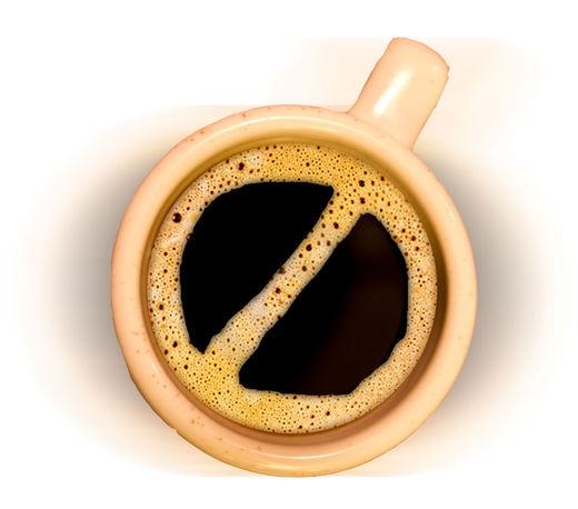 Tránh xa cà phê nếu bạn bị cao huyết áp. (Ảnh: Internet)
