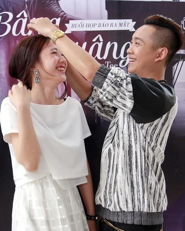 Khi bên cạnh Justatee, cô nàng Trâm Anh luôn có nụ cười rạng rỡ và hạnh phúc nhất. - Tin sao Viet - Tin tuc sao Viet - Scandal sao Viet - Tin tuc cua Sao - Tin cua Sao
