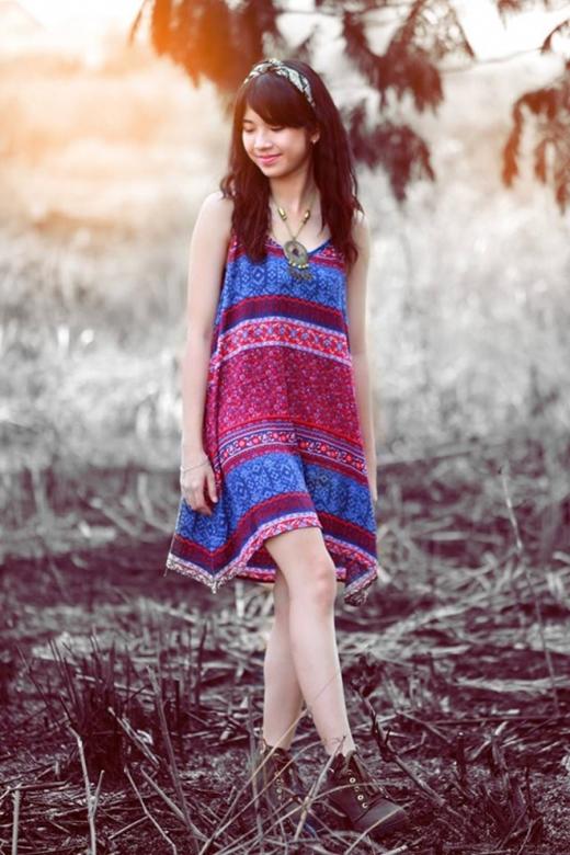 Nét đẹp hồn nhiên của 'hot girl Olympia' Lan Thy