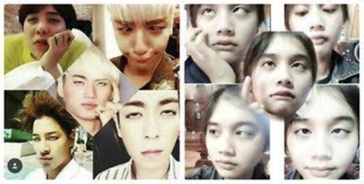 Đẳng cấp 'bựa' của idol đã được fan BigBang lột tả xuất sắc. (Ảnh: Internet)