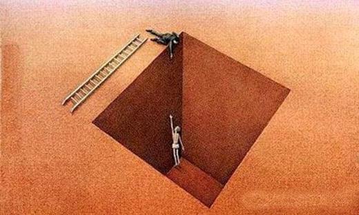 Nhiều người tỏ ra rất tốt bụng và luôn sẵn sàng giúp bạn, nhưng tất cả chỉ là sự lừa dối. (Ảnh: Internet)