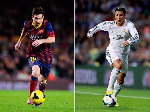 Ronaldo và Messi. Ai hơn ai? (Ảnh: Internet)