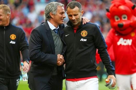 """Mourinho sắp được hợp tác với Giggs sau một bản hợp đồng """"bom tấn"""". (Ảnh: Internet)"""