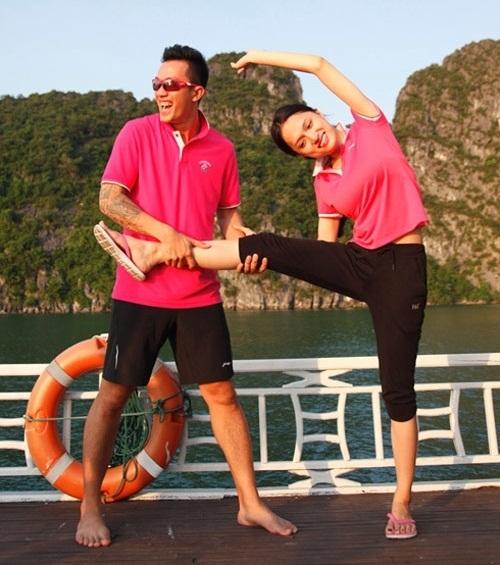 """Criss Lai và Hương Giang trong chương trình """"Cuộc đua kì thú"""" - Tin sao Viet - Tin tuc sao Viet - Scandal sao Viet - Tin tuc cua Sao - Tin cua Sao"""