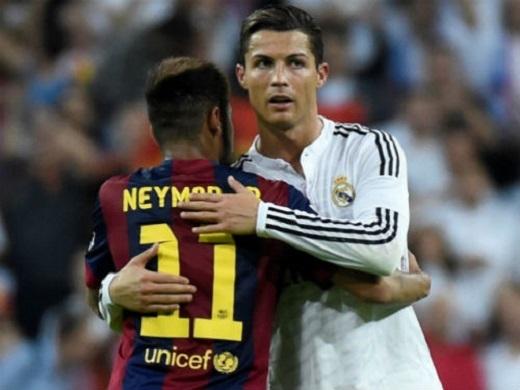 Neymar (11) và Ronaldo sẽ cùng nhau đến PSG hè này?. (Ảnh: Internet)