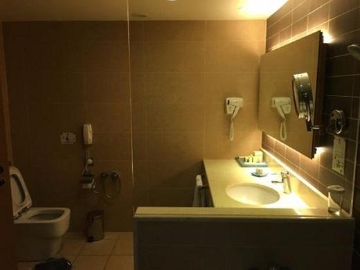 Phòng tắm hiện đại. (Ảnh: Internet)