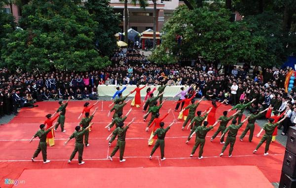 Sáng 25/3, Học viện An ninh nhân dân (Hà Nội) tổ chức cuộc thi cắm trại với chủ đề Tuổi trẻ Học viện ANND tự hào truyền thống, tiếp lửa anh hùng và hội thi dân vũ lần thứ nhất, chào mừng 85 năm ngày thành lập Đoàn thanh niên cộng sản Hồ Chí Minh.