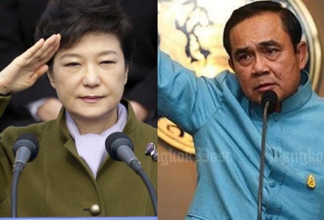 Tổng thống Hàn và Thủ tướng Thái Lan kêu gọi người dân xem phim - điều chưa từng xảy ra với các bộ phim ăn khách trước đó của Hàn Quốc. Ảnh:Nate.