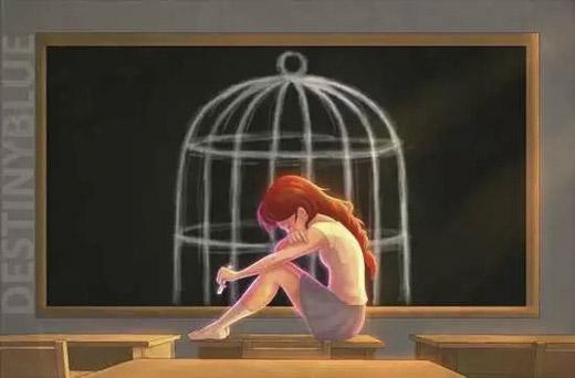Chỉ có chính bản thân mình mới có thể khâu vá lại được từng mảnh vỡ trong trái tim. (Ảnh: Internet)   Chiếc lồng đang giam giữ bạn chính là do bạn tự tạo ra. Đừng cố thuvà nhốt mình trong chiếc lồng cô đơn ấy mãi. (Ảnh: Internet)