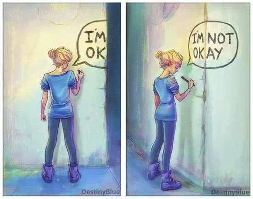 """Khi con gái nói """"ổn"""", nghĩa là họ đangcố không cho ai thấy họ buồn. (Ảnh: Internet)"""