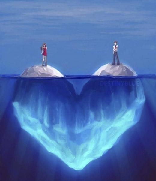 Tình yêu thường dễ dàng bị che mờ bởi khoảng cách. (Ảnh: Internet)