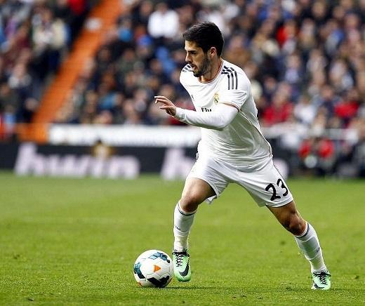 Isco vẫn đang hạnh phúc ở Santiago Bernabeu. (Ảnh: Marca.com)