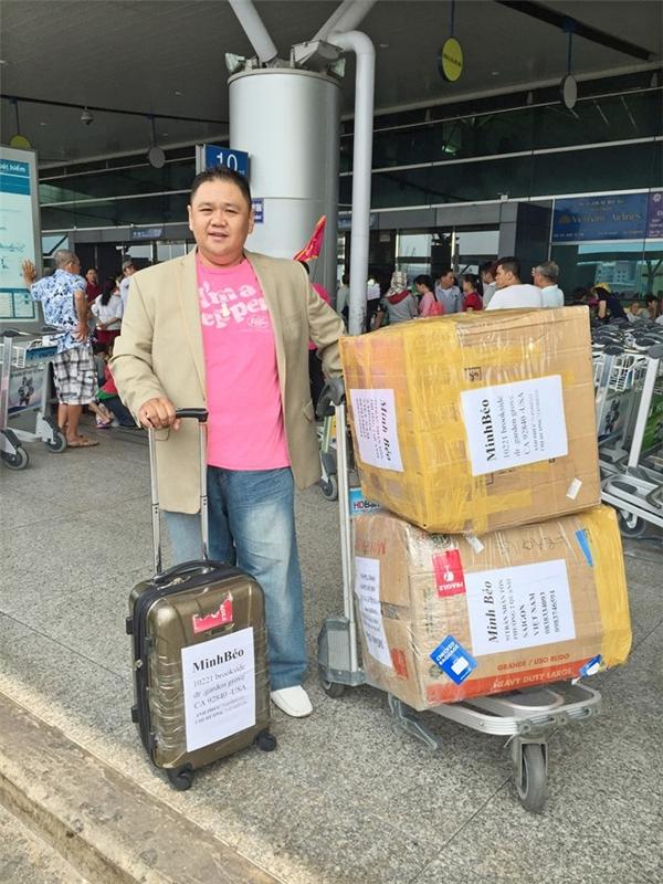 Minh Béo tại sân bay Tân Sơn Nhất vào ngày 18/3. Ảnh:Duy England - Tin sao Viet - Tin tuc sao Viet - Scandal sao Viet - Tin tuc cua Sao - Tin cua Sao