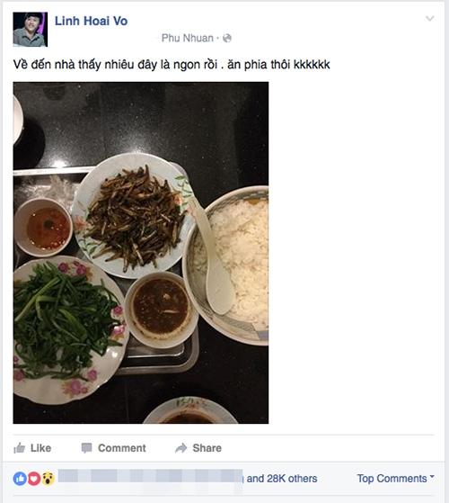 Dù là một trong những nghệ sĩ đắt show hàng đầu V-biz nhưng Hoài Linh vẫn giữ cho mình phong thái dân dã cùng sở thích ăn các món bình dị: mì tôm, bánh mì, cơm hộp, cá khô…   - Tin sao Viet - Tin tuc sao Viet - Scandal sao Viet - Tin tuc cua Sao - Tin cua Sao