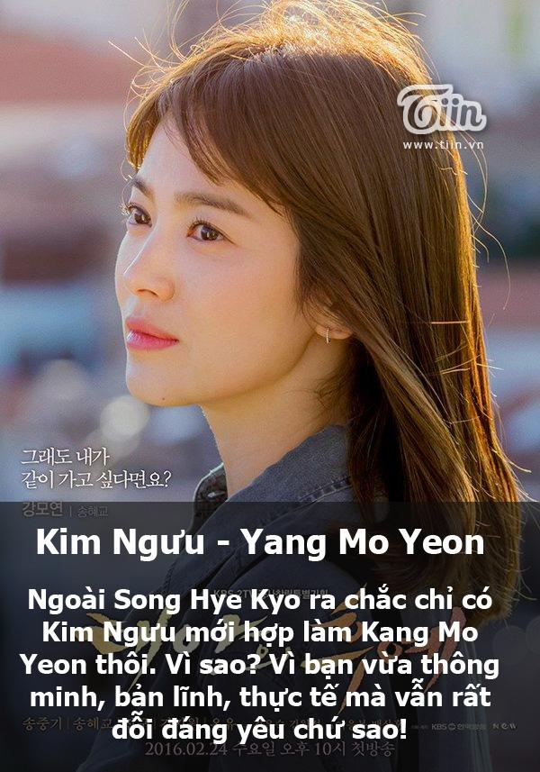 Chỉ có Kim Ngưu mới giống Kang Mo Yeon. (Ảnh: Internet)