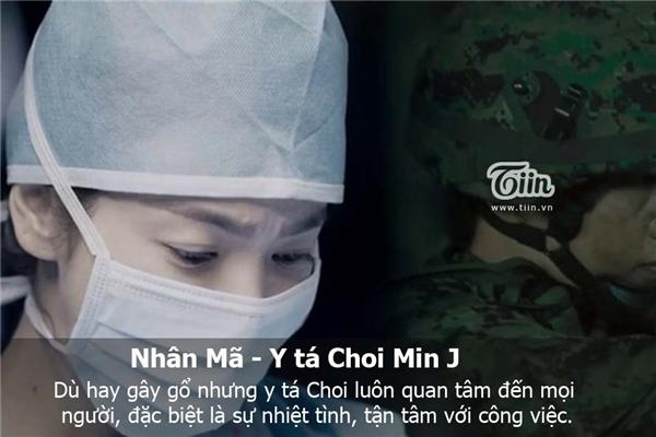 Nhân Mã là cô y tá Choi Min J. (Ảnh: Internet)