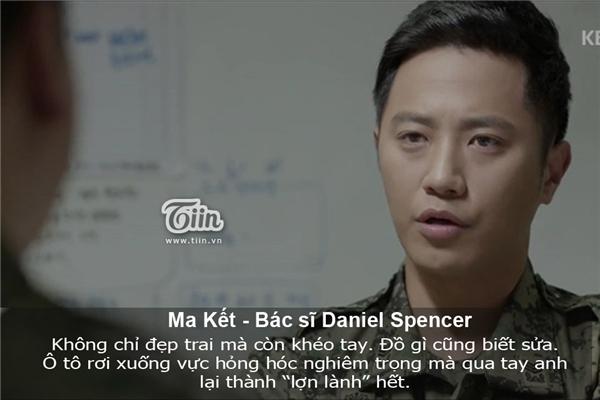 Ma Kết rất giống bác sĩ Daniel Spencer. (Ảnh: Internet)