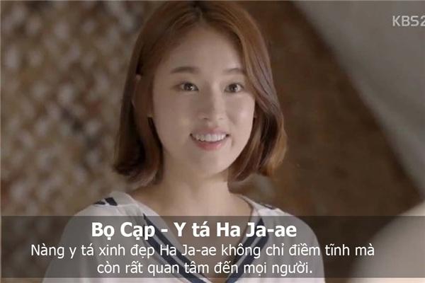 Bọ Cạp là y tá Ha Ja-Ae. (Ảnh: Internet)