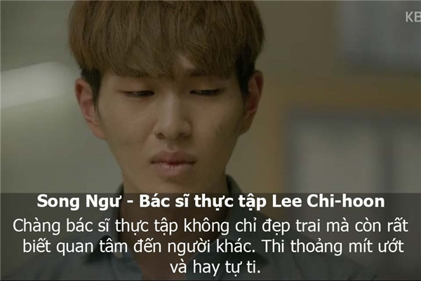 Cuối cùng, Song Ngư là bác sĩ thực tập Lee Chi Hoon. (Ảnh: Internet)