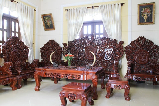 Minh Béo không tiếc tay sắm cho ngôi nhà những nội thất đắt đỏ.(Ảnh: Internet)