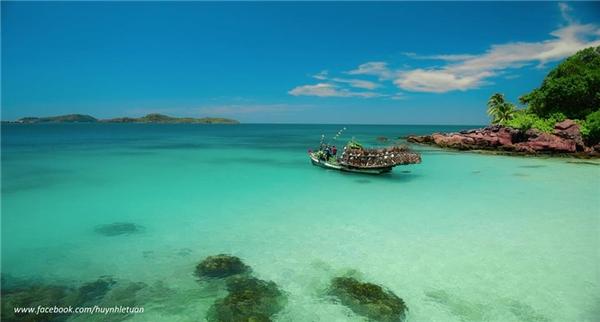 Hòn Móng Tay trở thành điểm du lịch nghỉ dưỡng lí tưởng cho những người thật sự cần một không gian nghỉ dưỡng đúng nghĩa.(Ảnh: Huỳnh Lê Tuấn)