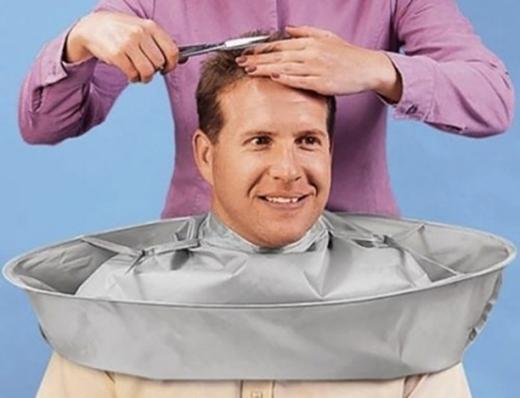 """Đây hẳn là sáng kiến """"lợi hại"""" nhất trong lịch sử tạo mẫu tóc.(Ảnh: Internet)"""