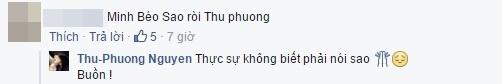 Dòng chia sẻ của Thu Phương với một người bạn về vụ việc của Minh Béo. - Tin sao Viet - Tin tuc sao Viet - Scandal sao Viet - Tin tuc cua Sao - Tin cua Sao