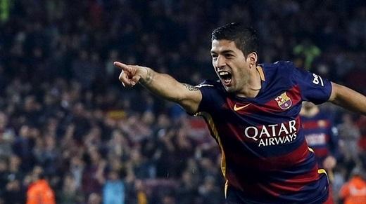 10. Luis Suarez (Barcelona)– 205.000 bảng/tuần. (Ảnh: Internet)