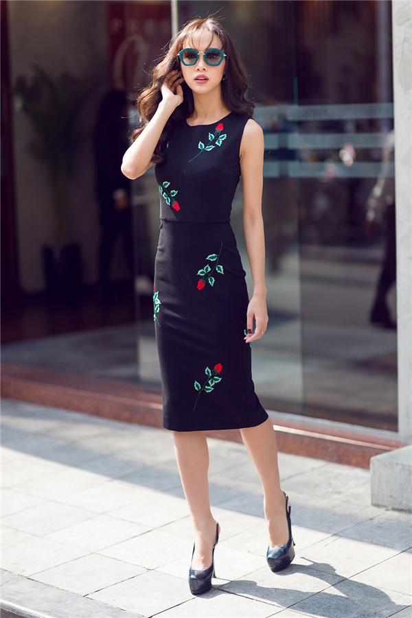 Vũ Ngọc Anh hiện đang là một trong những nữ diễn viên triển vọng của làng giải trí Việt.