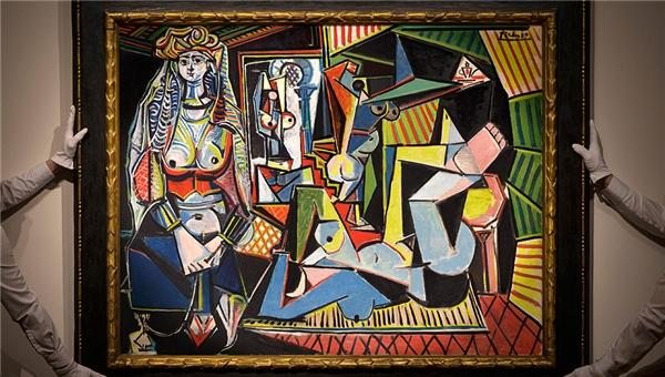 Bức tranh đắt nhất thế giới có tên Les Fennes d'Alger đắt nhất thế giới này chính là kiệt tác của danh họa Pablo Picasso. (Ảnh: Internet)