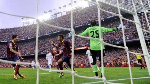 Neymar | Barcelona | 3 bàn.(Ảnh: Internet)