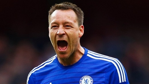 3. John Terry– Trung vệ – Chelsea. (Ảnh: Internet)