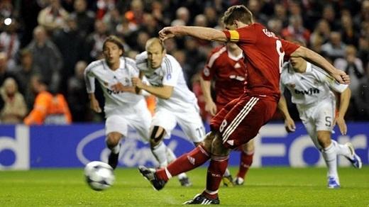 =6. Steven Gerrard | 6 bàn thắng. (Ảnh: Internet)