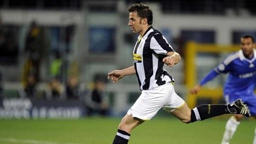 =6. Alessandro Del Piero | 6 bàn thắng. (Ảnh: Internet)