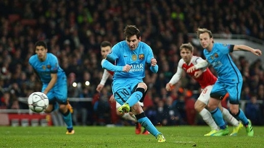 3. Lionel Messi | 9 bàn thắng. (Ảnh: Internet)