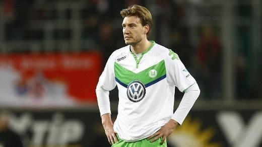"""""""Lord Bendtner"""" sẽ cứu rỗi Wolfsburg đêm nay?. (Ảnh: Internet)"""