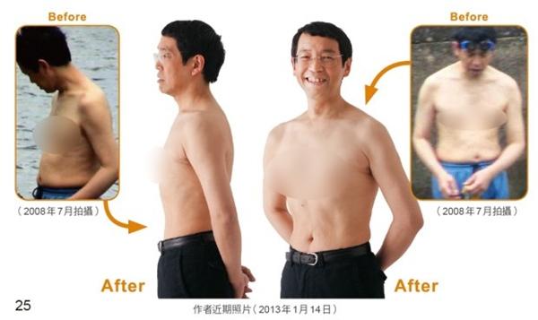 Nhờ việc luyện tập điều độ, vị bác sĩ này không những giảm được 10 cân mà vòng 2 gọn lại đến 17cm.(Ảnh: Internet)