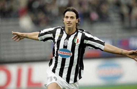 Ibrahimovic trong màu áo CLB Juventus. (Ảnh: Internet)