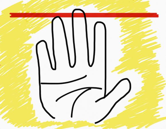Những người có ngón đeo nhẫn dài hơn ngón trỏ thường rất duyên dáng và dễ kết bạn. (Ảnh: Internet)