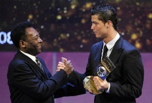 Trong mắt Pele, nềnbóng đáđương đại chỉ có 3 ngôi sao đáng xem nhất, đó là Cristiano Ronaldo...