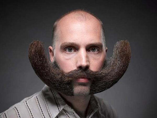 """6. Có thể đặt lên là bộ râu """"phản trọng lực"""" chăng?"""