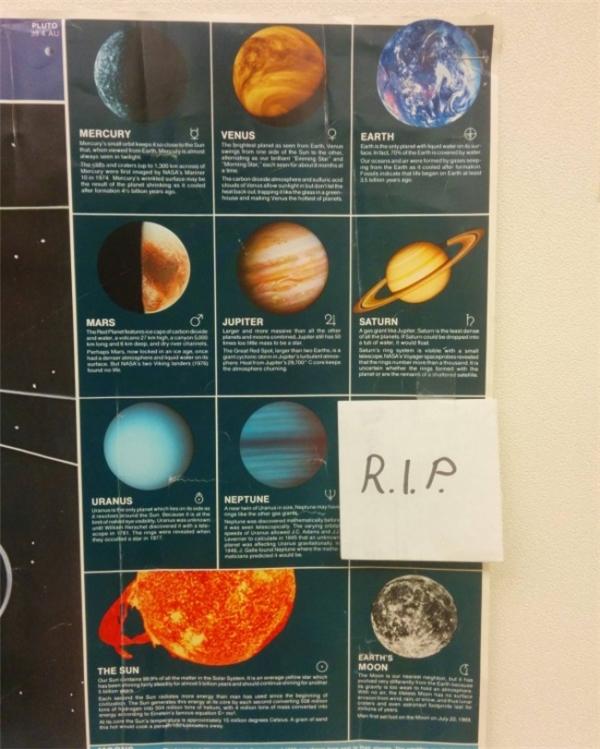 Thay đổi mới nhất trong chương trình giảng dạy các lớp học về thiên văn.