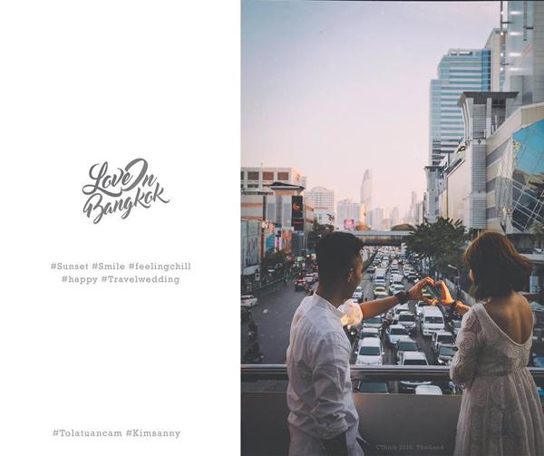 Chủ nhân của bộ ảnh cưới này là cô dâuNguyễn Minh Trangvà chú rểNguyễn Anh Tuấn(cùng sinh năm 1990, Hải Phòng). Cặp đôi này đã yêu nhau được 4 năm với quãng thời gian không ít khó khăn trước khi quyết định về cùng một nhà.