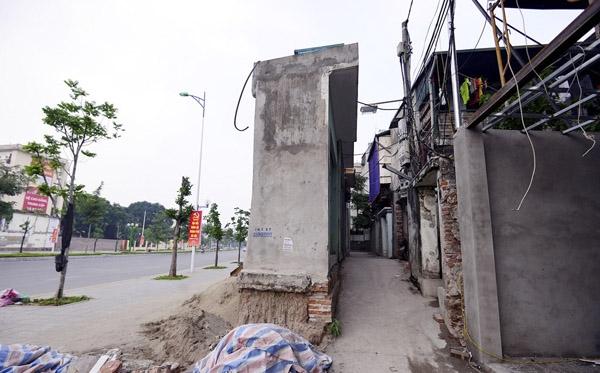 """Những dự án""""nhà siêu mỏng"""" liên tiếp được triển khai ở Việt Nam. (Ảnh: Internet)"""