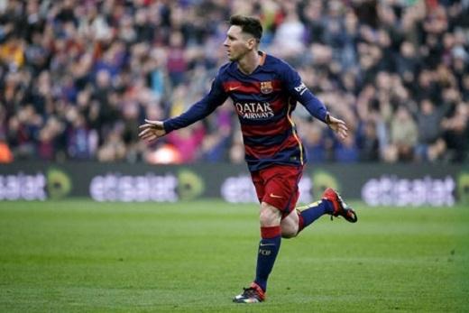 Messi kiếm tiền khủng nhất làng túc cầu 2015. (Ảnh: Internet)