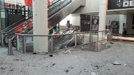 Sân bayBrussels bị đánh bom tháng trước. (Ảnh: Internet)