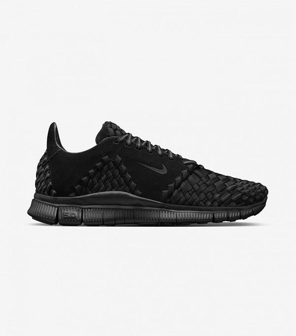 """Với màu đen huyền cùng sự kết hợp nhuần nhuyễn giữa chất liệu nylon dệt tay và da lộn cao cấp đã làm nên vẻ ngoài cực """"chất"""" của đôi sneaker này."""