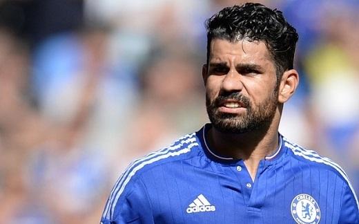 """Diego Costa đang cảm thấy """"không vui"""" ở Stamford Bridge. (Ảnh: Internet)"""