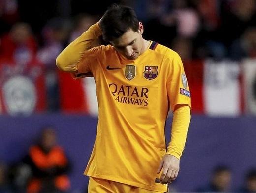 Messi đang phải thi đấu với chấn thương? (Ảnh: Getty Images)