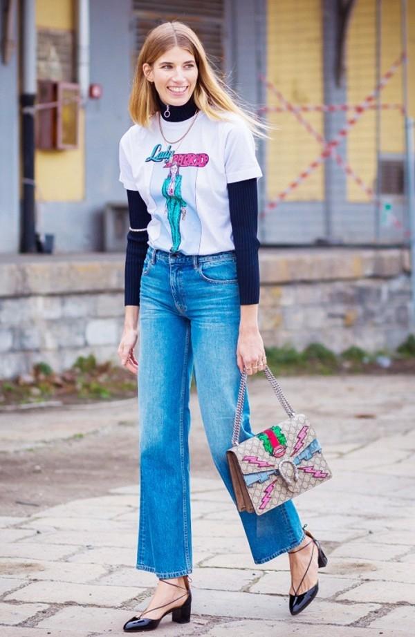 6 kiểu biến tấu quần jeans cực độc làm mưa làm gió hè này